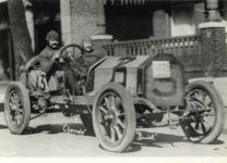1910 ca. Arthur Chevrolet BUICK official Indy 500 10″×8″ photograph front