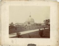 1903 Minnesota State Fair Exhibition Building Letters 1903 Elgin R. Sheparo photo Minneapolis 14″×11″ image 9.75″×7.75″