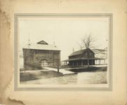 1903 ca. Minnesota State Fair Institute Hall 12″×10″ image 8.25″×6″