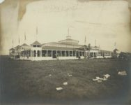 1905 ca. Minnesota State Fair Machinery Hall C.P. Gibson photo St. Paul 15.25″×12.5″ image 13.75″×11″