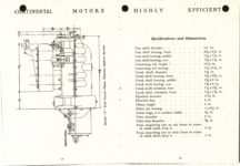 "1911 CASE Continental Motors Muskegon, Michigan Model ""C"" AACA Library xerox pages 18 & 19"