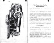 1911 CASE Instructions for Operating CASE CARS J.I. Case Threshing Machine Co. Racine, WIS AACA Library xerox page 4 & 5