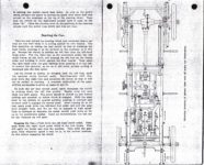 1911 CASE Instructions for Operating CASE CARS J.I. Case Threshing Machine Co. Racine, WIS AACA Library xerox page 6 & 7