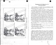 1911 CASE Instructions for Operating CASE CARS J.I. Case Threshing Machine Co. Racine, WIS AACA Library xerox pages 10 & 11