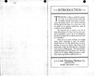1911 CASE Instructions for Operating CASE CARS J.I. Case Threshing Machine Co. Racine, WIS AACA Library xerox pages 2 & 3