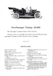 1911 CASE The CASE Car Formerly the Pierce-Racine The Car With the Famous Engine Announcement AACA Library xerox page 3