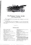 1911 CASE The CASE Car Formerly the Pierce-Racine The Car With the Famous Engine Announcement AACA Library xerox page 4