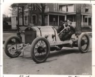 1913 CASE racing car  photo by E.T. Billings at Racine, WIS April 8, 1913 HORSELESS CARRIAGE GAZETTE Nov-Dec 1959 page 39 10″×8″ AACA Library 39 A 34975