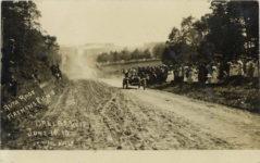 1910 6 11 AUTO RACE FIREMENS PICNIC DALLAS WIS JUNE 11 10 No 113 RPPC front