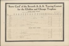 1910 7 Chalmers The Seventh Annual A. A. A. Tour Score Card MoToR AACA Library page 71