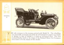 1914 Packard A PATRICIAN AND ITS PROTO TYPES ASK THE MAN WHO OWNS ONE MCMXIV MODEL N – picture and description Antique Automobile Club of America Library page 12