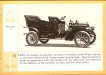 1914 Packard A PATRICIAN AND ITS PROTO TYPES ASK THE MAN WHO OWNS ONE MCMXIV MODEL S – picture and description Antique Automobile Club of America Library page 13