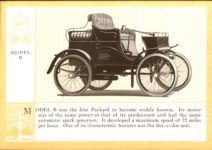 1914 Packard A PATRICIAN AND ITS PROTO TYPES ASK THE MAN WHO OWNS ONE MCMXIV MODEL B – picture and description Antique Automobile Club of America Library page 7