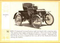 1914 Packard A PATRICIAN AND ITS PROTO TYPES ASK THE MAN WHO OWNS ONE MCMXIV MODEL C – picture and description Antique Automobile Club of America Library page 8