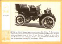 1914 Packard A PATRICIAN AND ITS PROTO TYPES ASK THE MAN WHO OWNS ONE MCMXIV MODEL F – picture and description Antique Automobile Club of America Library page 9