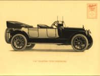 """1914 Packard TWIN SIX """"1-25"""" AND """"1-35"""" PACKARD MOTOR CAR COMPANY, DETROIT, MICHIGAN Antique Automobile Club of America Library page 23"""