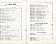1914 Stutz PARTS PRICE LIST and INSTRUCTION BOOK SERIES E AACA Library xerox page 2 & 3