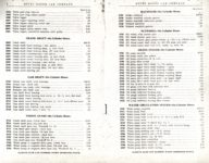 1914 Stutz PARTS PRICE LIST and INSTRUCTION BOOK SERIES E AACA Library xerox page 4 & 5