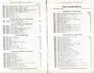 1914 Stutz PARTS PRICE LIST and INSTRUCTION BOOK SERIES E AACA Library xerox page 6 & 7