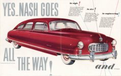 1949 NASH This is it! This is Nash! NM 261 8×10 front pages 1 & 2