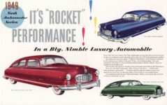 1949 NASH This is it! This is Nash! NM 261 8″×10″ inside pages 5 & 6
