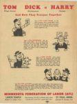 1950 Minnesota State Fair official program 8″x10.5″ Back cover