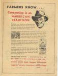 1950 Minnesota State Fair official program 8″x10.5″ Inside back cover