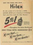 1950 Minnesota State Fair official program 8″x10.5″ Inside front cover