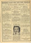 1950 Minnesota State Fair official program 8″x10.5″ page 10