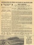 1950 Minnesota State Fair official program 8″x10.5″ page 21