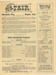 1950 Minnesota State Fair official program 8″x10.5″ page 3