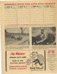 1950 Minnesota State Fair official program 8″x10.5″ page 6