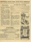 1950 Minnesota State Fair official program 8″x10.5″ page 9