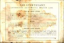 1904 STURTEVANT LEVERLESS AUTOMATIC MOTOR CAR OF 1904 AACA Library page 2