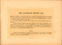 1907 Sturtevant THE AUTOMATIC CAR STURTEVANT MILL COMPANY Boston, Mass AACA Library page 2