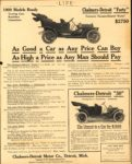 1909 CHALMERS-DETROIT 1909 Models Ready As Good a Car as Any Price Can Buy As High a Price as Any Man Should Pay LIFE AACA Library