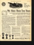 1910 1 8 CHALMERS-DETROIT We Have Been Two Years THE SATURDAY EVENING POST AACA Library page 34
