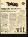 1910 1 8 CHALMERS-DETROIT Writing This Advertisement THE SATURDAY EVENING POST AACA Library page 35