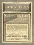 1910 8 31 LOZIER WINS THE ELGIN NATIONAL TROPHY AT CHICAGO SATURDAY AUG 27 THE HORSELESS AGE Front cover