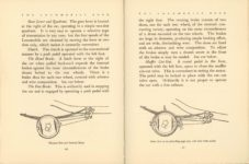 1912 THE LOCOMOBILE THE CAR OF 1912 6.25″×8.25″ x2 pages 166 & 167