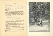 1912 THE LOCOMOBILE THE CAR OF 1912 6.25″×8.25″ x2 pages 194 & 195