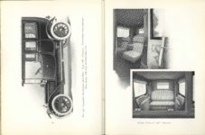 1912 THE LOCOMOBILE THE CAR OF 1912 6.25″×8.25″ x2 pages 206 & 207