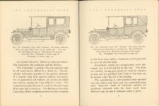 1912 THE LOCOMOBILE THE CAR OF 1912 6.25″×8.25″ x2 pages 32 & 33