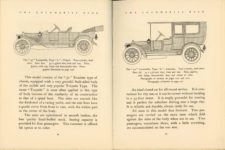 1912 THE LOCOMOBILE THE CAR OF 1912 6.25″×8.25″ x2 pages 44 & 45