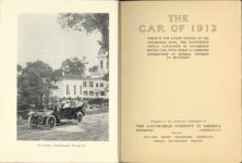 1912 THE LOCOMOBILE THE CAR OF 1912 6.25″×8.25″ x2 pages 6 & 7