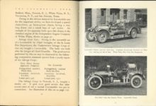 1912 THE LOCOMOBILE THE CAR OF 1912 6.25″ ×8.25″ x2 pages 90 & 91