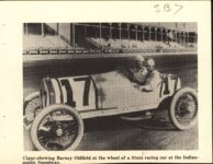 1913 STUTZ Barney Oldfield Indy Speedway Car No. 17 AACA Library clipping 5.5″×4.25″