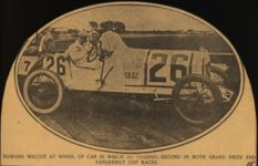 1915 STUTZ HOWARD WILCOX AT WHEEL FINISHED SECOND AACA Library clipping