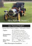 1905 National Model C trading trading card   v2