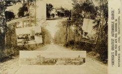 "1908 ""AMERICA'S GREATEST AUTOMOBILE COURSE"" GRAND PRIZE AUTO RACE, SAVANNAH, GA, NOVEMBER 26TH, 1908, THANKSGIVING DAY. RPPC front"
